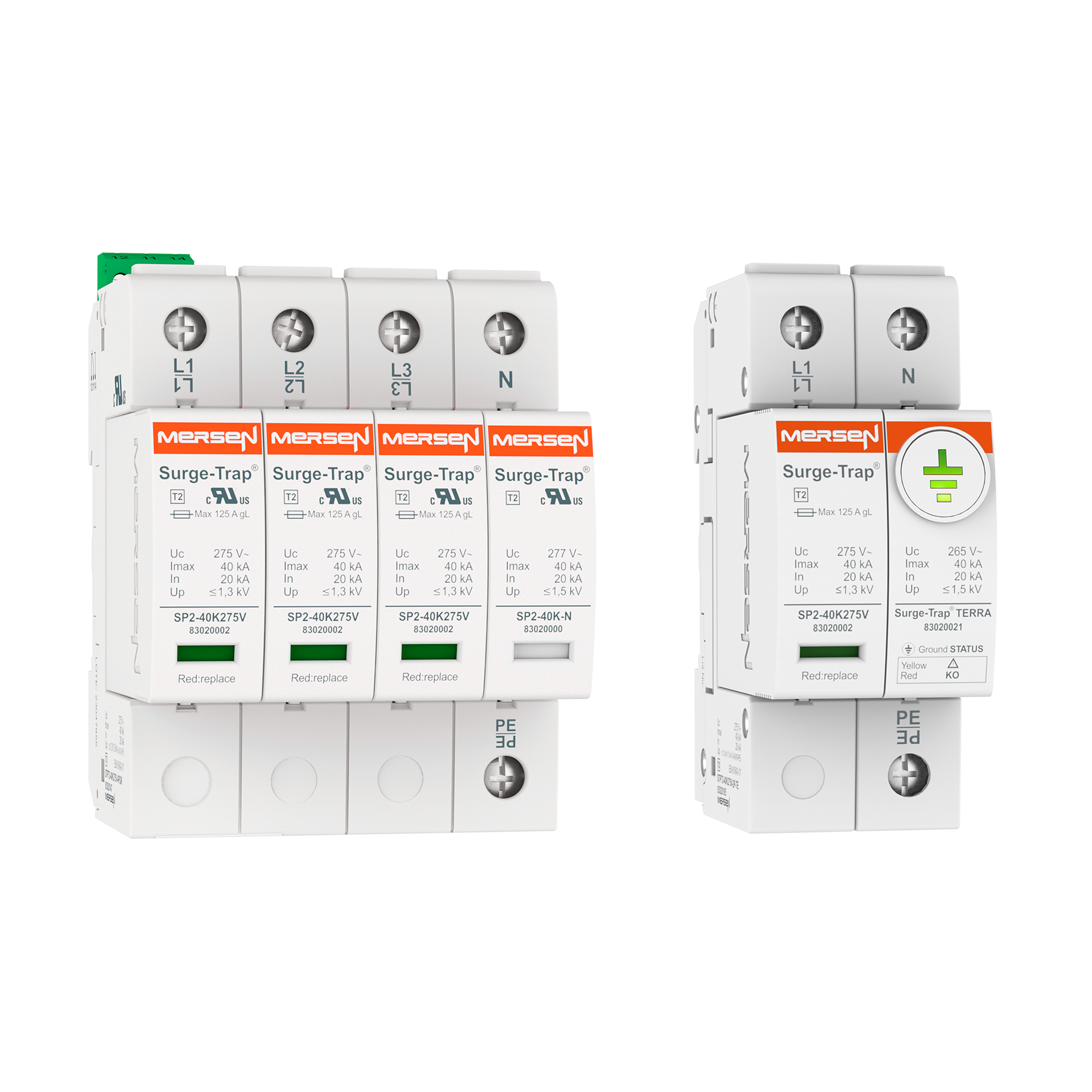 Power Line SPD - DIN-RAIL IEC TYPE 2/UL CSA