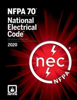 2020 NFPA National Electrical Code Cover